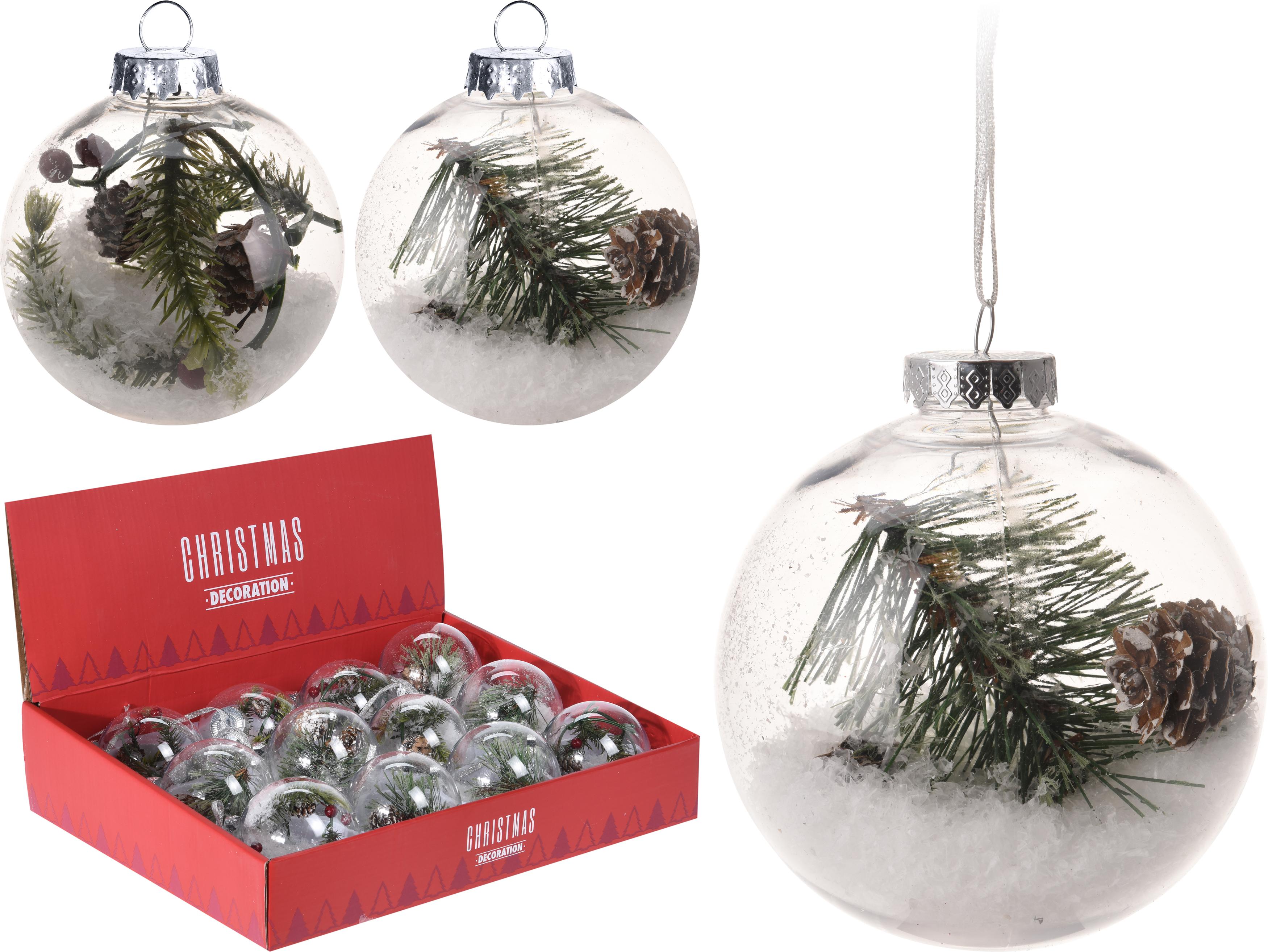 Idee Deco Boule Plastique Transparente Noel rangement pour boule de noel   venus et judes
